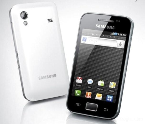 #Yeni Bir Cihaz : Samsung Galaxy Ace (s5830)