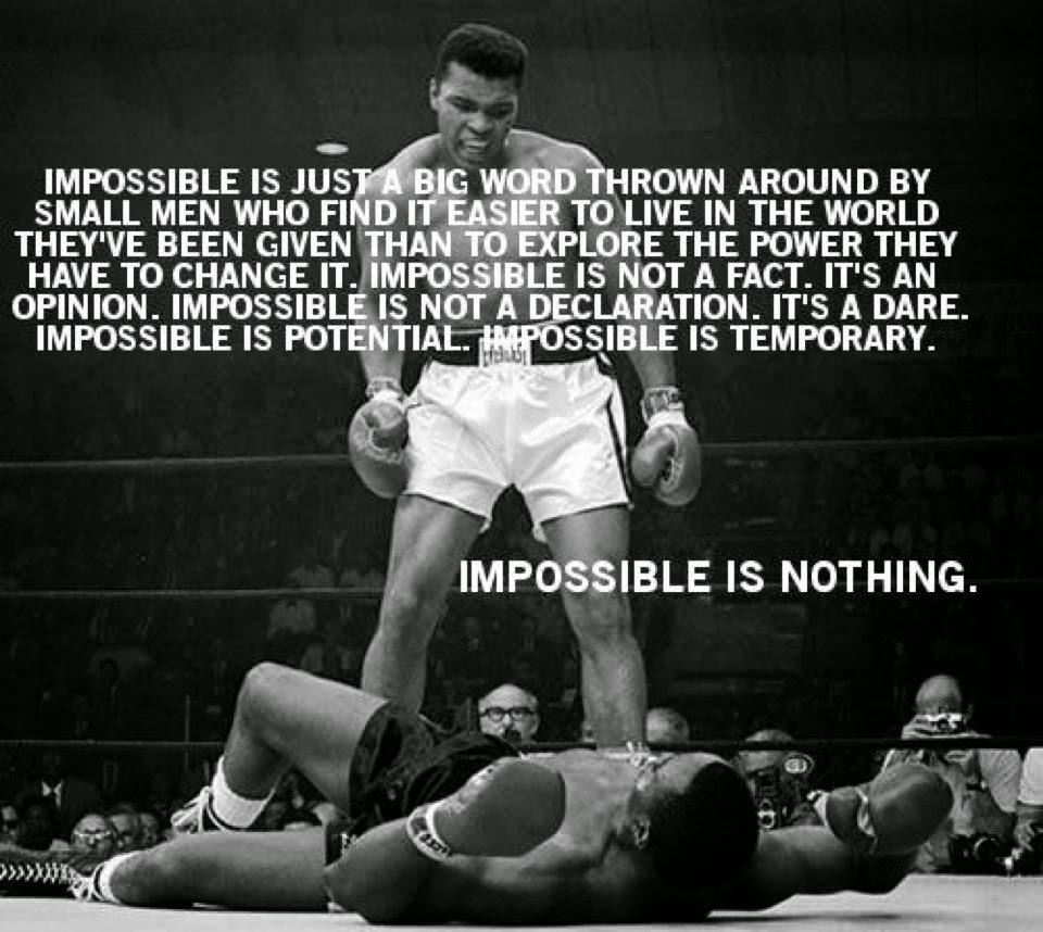 Hiçbir Şey İmkansız Değildir!