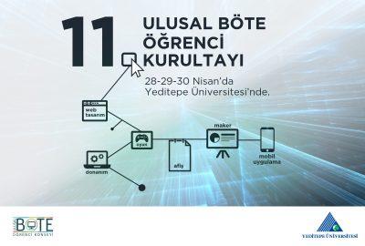 11.Böte Kurultayı Yeditepe Üniversitesinde Tamamlandı