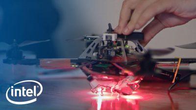 Intel Gücüyle Drone Işık Gösterileri