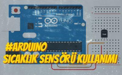 Arduino (TMP36) Sıcaklık Sensörü Kullanımı