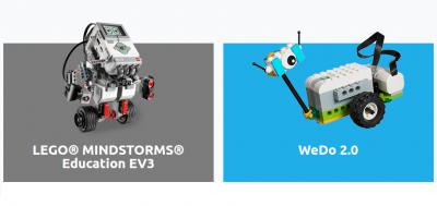 Lego WeDo 2.0 ve Mindstorms EV3