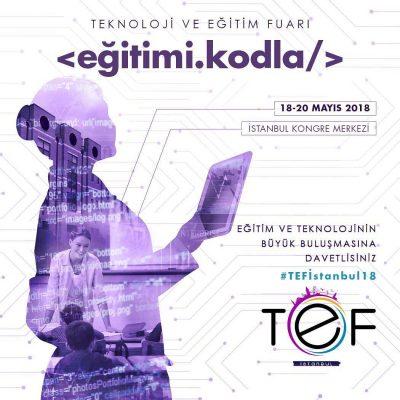 2018 TEF İstanbul – Eğitimi Kodla