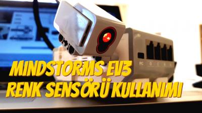 Mindstorms EV3 Renk Sensörü Kullanımı