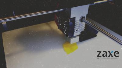 Zaxe X1 Model 3D Yazıcım Geldi