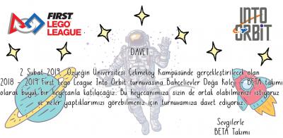 FLL İnto Orbit İstanbul Turnuvaları Başlıyor!