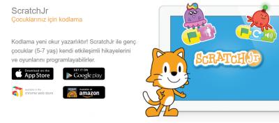 Masaüstü Scratch Jr Kullanımı