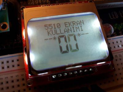 Arduino 5110 Ekran Kullanımı
