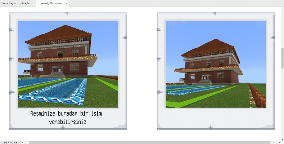Minecraft Education Dışa Aktarılmış Portfolyo