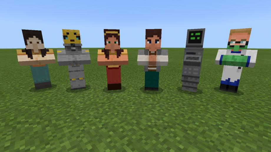 Minecraft Education Oyuncu Olmayan Karakterler