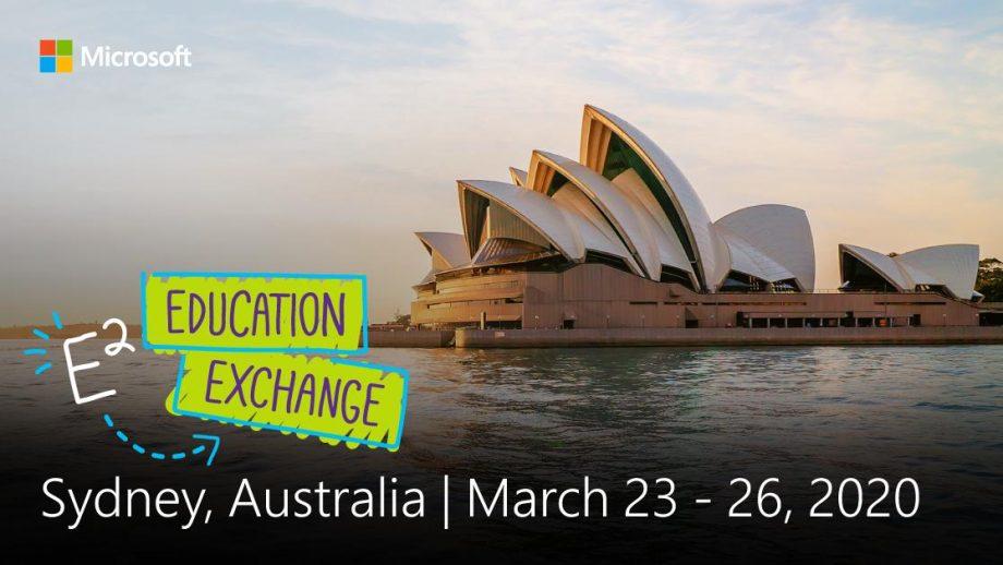 Education Exchange 2020 - Sidney