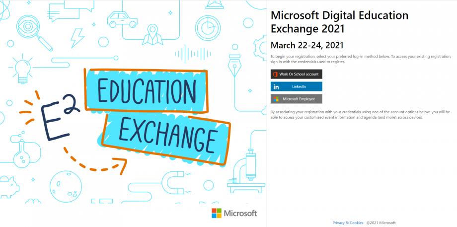 Education Exchange Kayıt Sayfası
