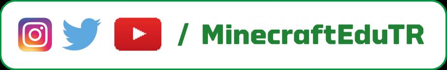 MinecraftEduTR Sosyal Hesapları