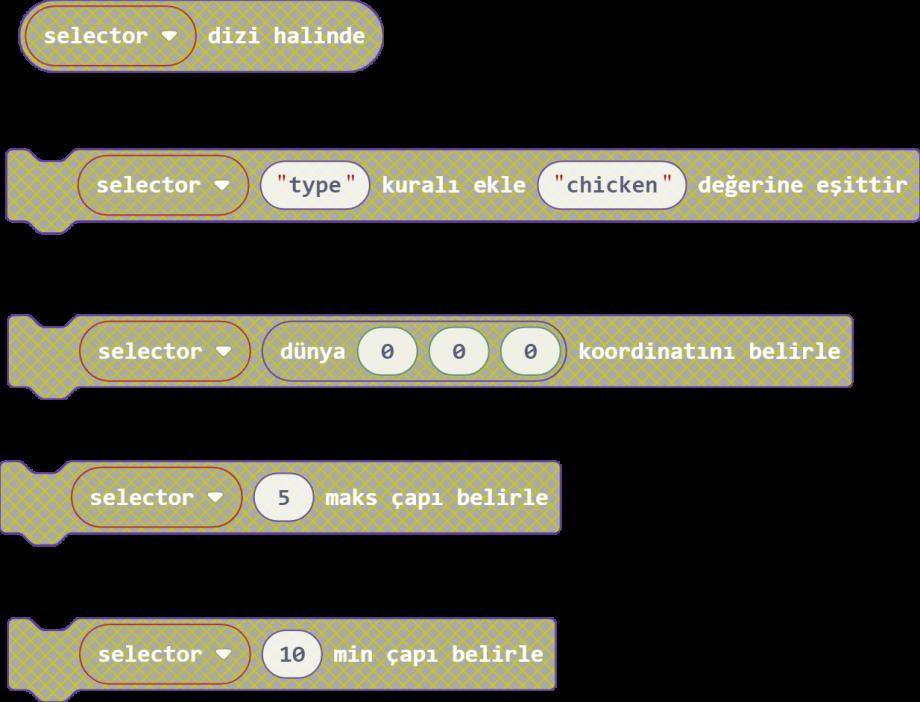 MakeCode Yaratıklar 16