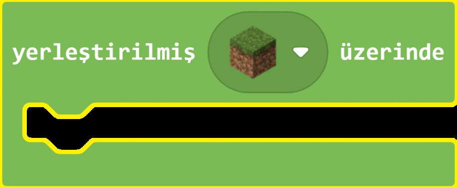 Minecraft Education MakeCode Bloklar Yerleştirme