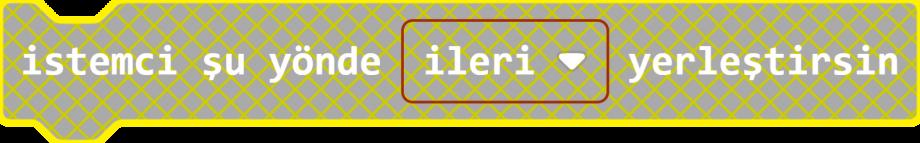 MakeCode İstemci Blok Yerleştirme